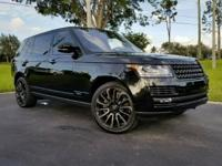 This 2017 Land Rover Range Rover is featured in