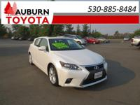 1 OWNER, LOW MILES, LEATHER!!  This 2017 Lexus CT 200h