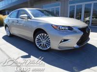 Scores 30 Highway MPG and 21 City MPG! This Lexus ES