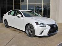 **2017 Lexus GS 3.5L V6 DOHC 24V 350 Eminent White