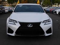 Options:  2017 Lexus Gs F W/Navigation|White/Stratus