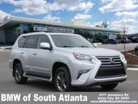 Silver Lining Metallic 2017 Lexus GX 460 4WD 6-Speed