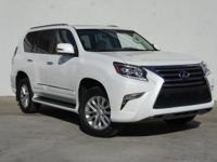CARFAX One-Owner. Clean CARFAX. White 2017 Lexus GX 460