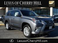 2017 Lexus GX 460 CARFAX One-Owner. Clean CARFAX. Gray