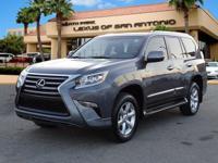 GX 460 trim. L/ Certified, CARFAX 1-Owner, LOW MILES -