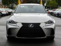Options:  2017 Lexus Is Is Turbo F Sport|01J7/|V4 2.0L
