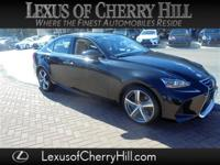 CARFAX One-Owner. Clean CARFAX. Black 2017 Lexus IS 300