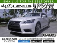You are currently viewing a new 2017 Lexus LS 460 with