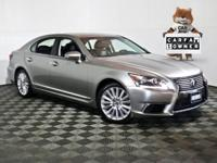2017 Lexus LS 460 Atomic Silver Navigation, 1 Owner
