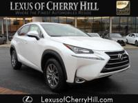 2017 Lexus NX 200t Certified. CARFAX One-Owner. Clean