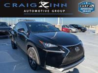 Recent Arrival! Black 2017 Lexus NX FWD 6-Speed