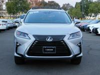 Options:  2017 Lexus Rx Rx 350|Silver/Black|V6 3.5 L