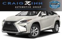Recent Arrival! 2017 Lexus RX 350 FWD 8-Speed Automatic