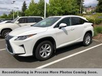 **LEXUS FACTORY CERTIFIED**, **AWD**, **BACK UP