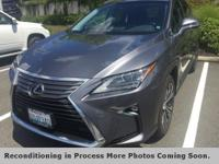 **LEXUS FACTORY CERTIFIED**, **AWD**, **HEATED AND