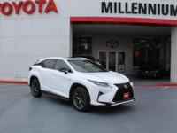 Ultra White 2017 Lexus RX 350 AWD 8-Speed Automatic