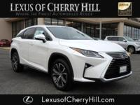 2017 Lexus RX 350 CARFAX One-Owner. Clean CARFAX. White