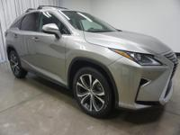 2017 Lexus RX Silver 350 8-Speed Automatic AWD 3.5L V6