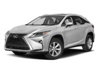 Options:  2017 Lexus Rx Rx 350|/|V6 3.5 L