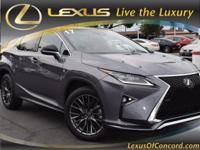 2017 LEXUS RX 350F Sport Package... GRAY EXTERIOR WITH