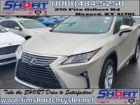 Gold 2017 Lexus RX 350 AWD 8-Speed Automatic 3.5L V6
