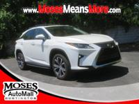 CARFAX One-Owner. Clean CARFAX. White 2017 Lexus RX 350