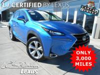 *Experience a Fully-Loaded Lexus NX 200t AWD NX Turbo