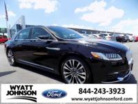 New Price! Clean CARFAX. Diamond Black 2017 Lincoln