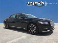 New Price! CARFAX One-Owner. Black Velvet 2017 Lincoln
