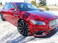 VERY NICE CAR 2017 LINCOLN CONTINENTAL SELECT  GORGEOUS