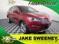 Step up to luxury in our One Owner 2017 Lincoln MKC