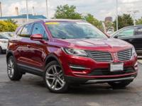EPA 25 MPG Hwy/19 MPG City! Lincoln Certified, Superb