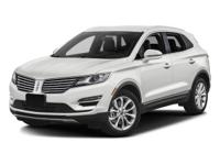 Options:  2017 Lincoln Mkc Select|Miles: 16996Color: