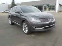 Magnetic Gray Metallic 2017 Lincoln MKX Reserve AWD is
