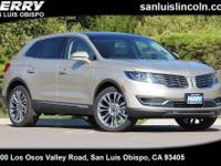 Options:  2017 Lincoln Mkx Reserve Awd||112|153 : Front