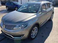 2017 Lincoln MKX LINCOLN CERTIFIED, NEW AIR FILTER,