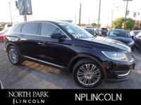 Lincoln Certified. Nav System, Heated/Cooled Leather