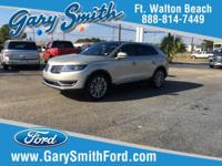 CARFAX One-Owner. Clean CARFAX. Gold 2017 Lincoln MKX