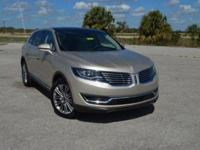 This low mileage, one owner Lincoln MKX Reserve FWD