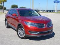 This low mileage, one owner Lincoln MKX FWD comes