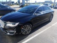 Certified. Black 2017 Lincoln MKZ Premiere FWD 6-Speed