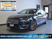 2017 Midnight Sapphire Blue Metallic Lincoln MKZ