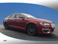 New Price! This 2017 Lincoln MKZ Reserve in Ruby Red