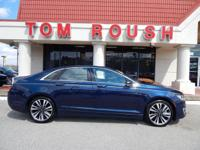 Midnight Sapphire Blue Metallic 2017 Lincoln MKZ