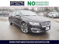 *NO DOC FEES*2017 Lincoln MKZ Select AWD Black 6-Speed