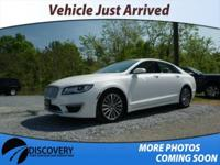 Clean CARFAX. 2017 Lincoln MKZ Select FWD 2.0L GTDi