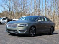 Green 2017 Lincoln MKZ Select AWD 6-Speed Automatic
