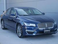 Options:  2017 Lincoln Mkz Select|Blue/|V4 2.0 L