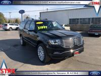 Options:  2017 Lincoln Navigator L Reserve|Black|4.10