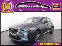 Look No Further! One Owner. This 2017 Mazda CX-3